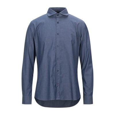 アティピコ AT.P.CO シャツ ブルー 39 コットン 97% / ポリウレタン 3% シャツ