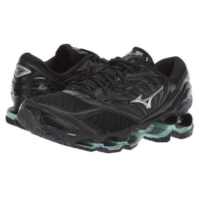 ミズノ Mizuno レディース ランニング・ウォーキング シューズ・靴 Wave Prophecy 8 Black/Silver