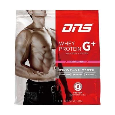 ディーエヌエス(DNS) プロテインホエイプロテイン G+ ストロベリー 1kg 819270 タンパク質 たんぱく質 トレーニング 筋トレ whey