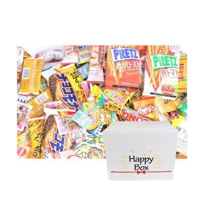 (地域限定送料無料) <ハッピーボックス> ゆっくり家で楽しもう お菓子セット(21種・計201コ)【サービス品付き】 (omtma5495k)