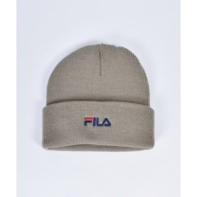 帽子 キャップ 【FILA】FLM BASIC LOGO KNIT WATCH