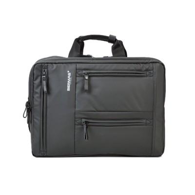 【カバンのセレクション】 バーマス 3WAY ビジネスバッグ リュック メンズ 防水 A4 BERMAS 60351 メンズ ブラック フリー Bag&Luggage SELECTION