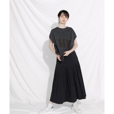 スカート F/CE. FRONT OPEN LONG SKIRT / エフシーイー フロントオープン ロングスカート