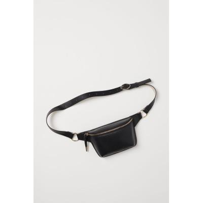 H&M - ウエストバッグ - ブラック