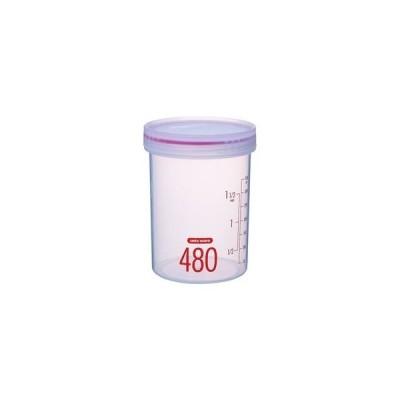 ds-2259702 (まとめ) Sサークルポット/保存容器 【480ml】 高さ12cm 電子レンジ・食洗機可 パッキン付き ユニックス 【120個セット】 (ds2259702)
