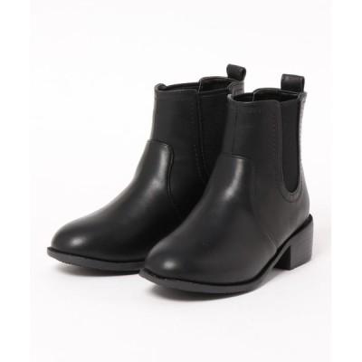 velikoko ラクチンきれいシューズ / 【19.5~27.0cm】晴雨兼用ブーツ(4cmヒール) WOMEN シューズ > ブーツ