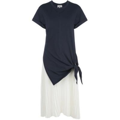 3.1 フィリップリム ワンピース デイドレス レディース 31 Phillip Lim tie-detail pleated dress Black