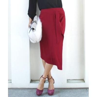 【ビッキー】 ウエストリボン巻きスカート レディース ピンク S(1) VICKY