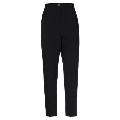 BOUTIQUE MOSCHINO パンツ ブラック 46 トリアセテート 70% / ポリエステル 30% パンツ