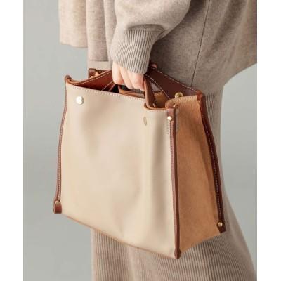 RIVE DROITE / 【PAOLA NUTTI(パオラヌッティ)】ハラコ切替バッグ WOMEN バッグ > ハンドバッグ