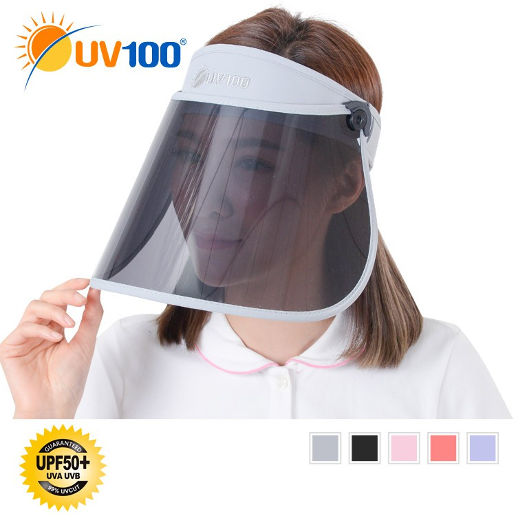 UV100 防曬 抗UV-偏光遮陽捲收美容面罩【MC91357】
