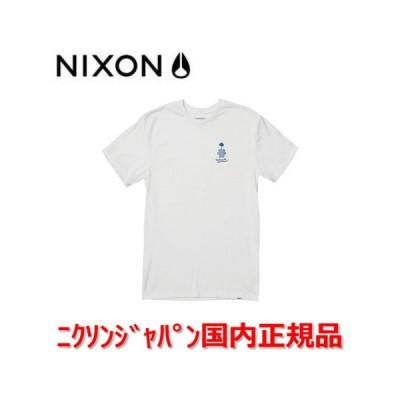 サスティナブル ニクソン NIXON Tシャツ ティーシャツ メンズ レディース Goodtimes グッドタイムス エコTシャツ White ホワイト 白 S2836100 国内正規品