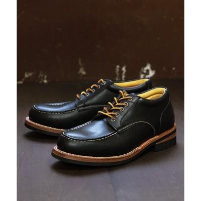 ブーツ [グッドイヤー製法]オイルレザーブーツ