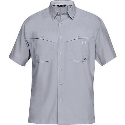 (取寄)アンダーアーマー メンズ UA タイド チェイサー ショートスリーブ シャツ Under Armour Men's UA Tide Chaser SS Shirt Mod Gray / Elemental 送料無料