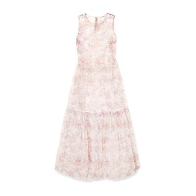 ULLA JOHNSON 7分丈ワンピース・ドレス ホワイト 4 ナイロン 100% 7分丈ワンピース・ドレス