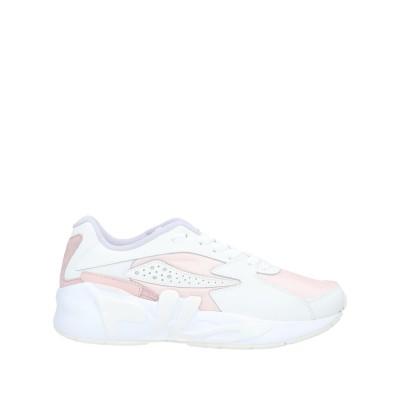 FILA スニーカー&テニスシューズ(ローカット) ライトピンク 5.5 革 / 紡績繊維 スニーカー&テニスシューズ(ローカット)