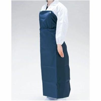 【納期目安:1週間】TKG (Total Kitchen Goods) SME8305 ワンタッチ胸付前掛W-100(紺)