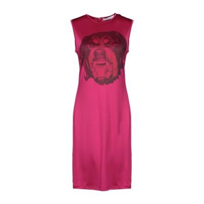 ジバンシィ GIVENCHY ミニワンピース&ドレス フューシャ 36 レーヨン 94% / ポリウレタン 6% ミニワンピース&ドレス