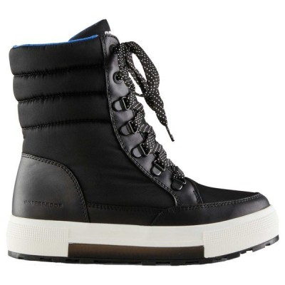 クーガー ブーツ&レインブーツ シューズ レディース Cougar Women's Wahoo Nylon Winter Boots with PrimaLoft Black/White