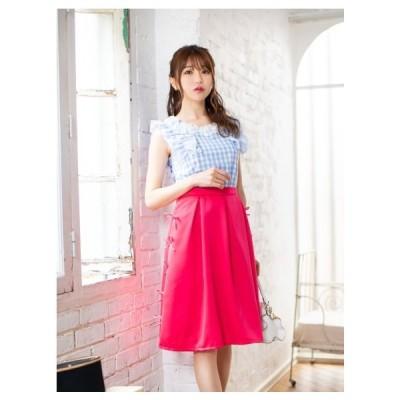 Cherry Ann(チェリーアン)パイピングリボンスカート