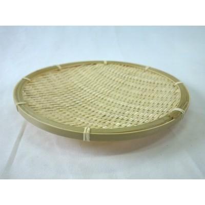 【盛皿】 ヒゴ丸皿 竹製 《14-577》