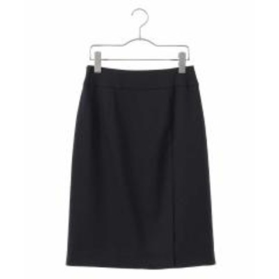 OFUON(オフオン)【洗える】クールマックスサイドベンツタイトスカート【お取り寄せ商品】