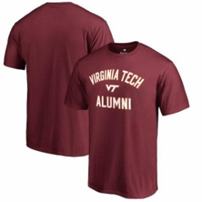 Fanatics Branded ファナティクス ブランド スポーツ用品  Fanatics Branded Virginia Tech Hokies Maroon Big & Tall Team Alumni T-Shi