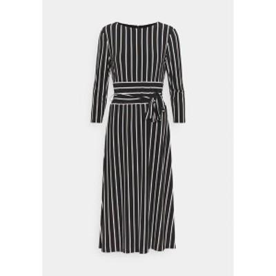 ラルフローレン レディース ワンピース トップス PRINTED MATTE DRESS - Day dress - black black