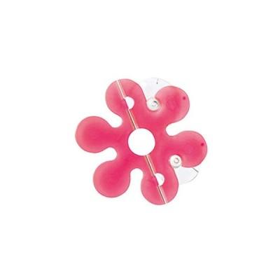 MARNA(マーナ) 歯ブラシフック ファーファン ピンク 約幅8×奥行3.6×高さ4.3cm