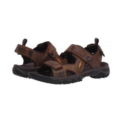Keen キーン メンズ 男性用 シューズ 靴 サンダル Targhee III Open Toe Sandal - Bison/Mulch