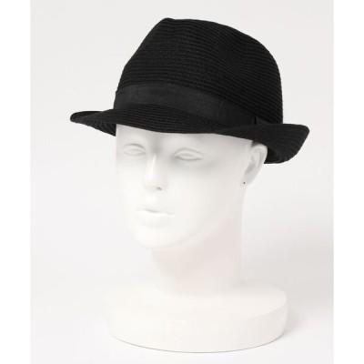 帽子 ハット 【BLUE STANDARD】ウォッシャブルブレードハット 中折れハット 手洗い可能 汗止めテープに抗菌防臭加工