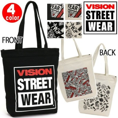 トートバッグ ビジョン ストリートウェア VISION STREET WEAR キャンバストートバッグ レディース メンズ ブランド セール