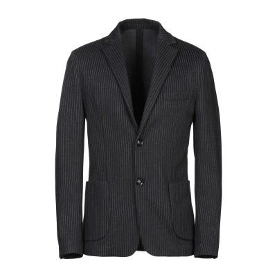 LUCA BERTELLI テーラードジャケット スチールグレー 48 レーヨン 56% / ナイロン 25% / ポリエステル 15% / ポリウ