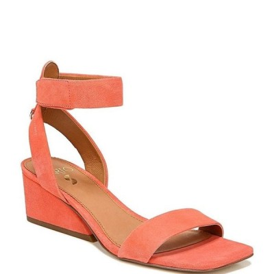 フランコサルト レディース サンダル シューズ Sarto by Franco Sarto Savilla Suede Square Toe Wedge Sandals