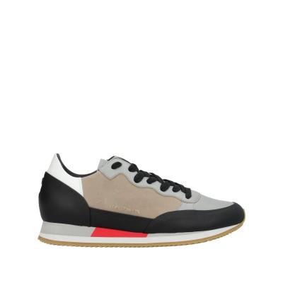 フィリップ モデル PHILIPPE MODEL スニーカー&テニスシューズ(ローカット) グレー 41 革 スニーカー&テニスシューズ(ローカット)