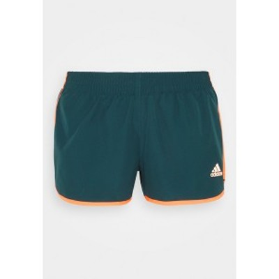 アディダス レディース カジュアルパンツ ボトムス SHORT - Sports shorts - wild teal/screaming orange wild teal/screaming orange
