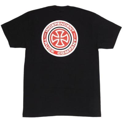 インディペンデント 半袖 Tシャツ ブラック メンズ スケート INDEPENDENT TARGET S/S TEE BLACK