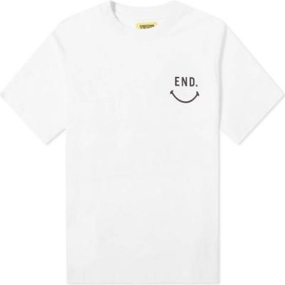 チャイナタウンマーケット Chinatown Market メンズ Tシャツ トップス Work Together Tee White