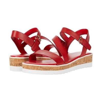 Marc Fisher マークフィッシャー レディース 女性用 シューズ 靴 サンダル Grandie - Red