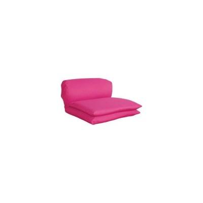 ごろ寝座椅子 ピンク  ワッフル(G)PI