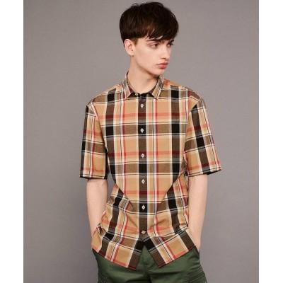 DRESSTERIOR(Men)(ドレステリア(メンズ)) 【洗える】イージーケアチェックシャツ