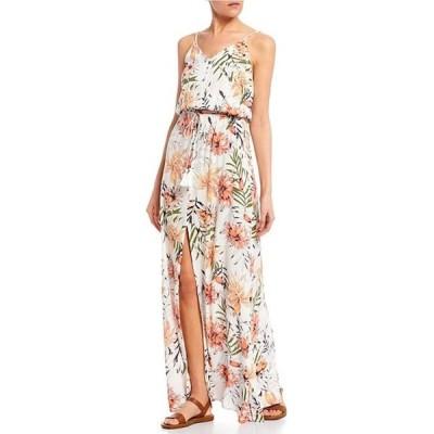 リップカール レディース ワンピース トップス Playa Blanca Floral Maxi Dress