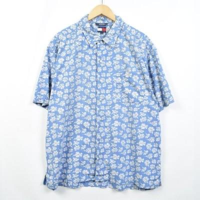 トミーヒルフィガー ハワイアンアロハシャツ XL /eaa032227