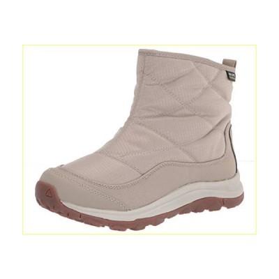 【並行輸入品】KEEN Women's Terradora 2 Ankle Pull-on Wp Snow Boot, Plaza Taupe/Silver Birch, 9