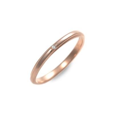ピンクゴールド リング 指輪 ダイヤモンド 彼女 プレゼント ラバーズアンドリング 誕生日 送料無料 レディース