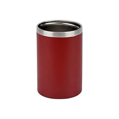 和平フレイズ 冷たさ長持ち! 缶ホルダー 350ml アースレッド 真空断熱構造 保温 保冷 タンブラーにもなる 2WAYタイプ RH-1532 フォ