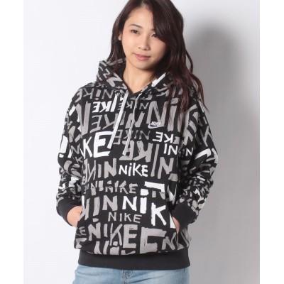 (NIKE/ナイキ)NIKE SPORTSWEAR CLUB/レディース ブラック/ホワイト