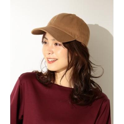(anyFAM/エニィファム)【定番人気】ベーシック キャップ/レディース キャメル系