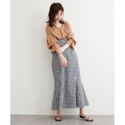 【WEB限定】ハイウエストマーメイドスカート