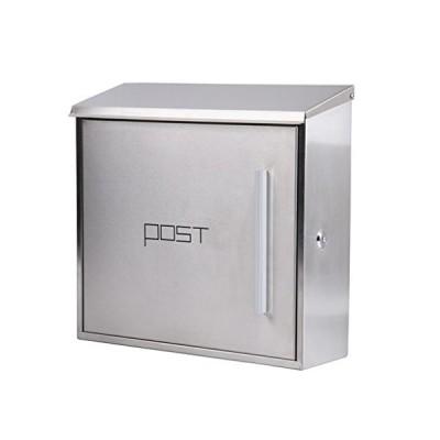 LXJYMX European modern villa outdoor mailbox, stainless steel mailbox -Outdoor waterproof mailbox 並行輸入品